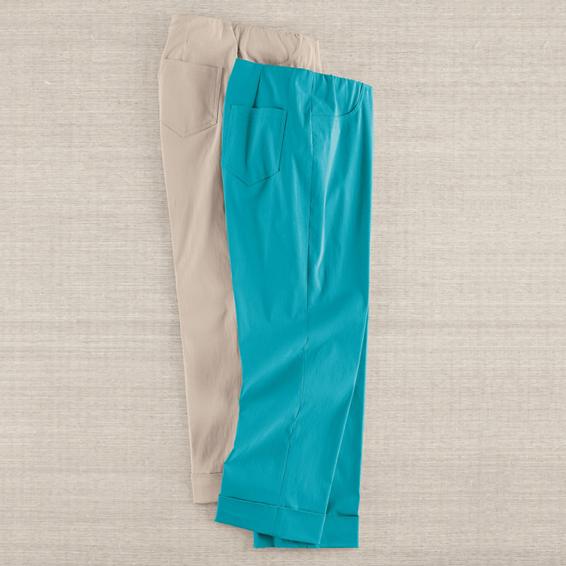 Stretch Pull-On Pants