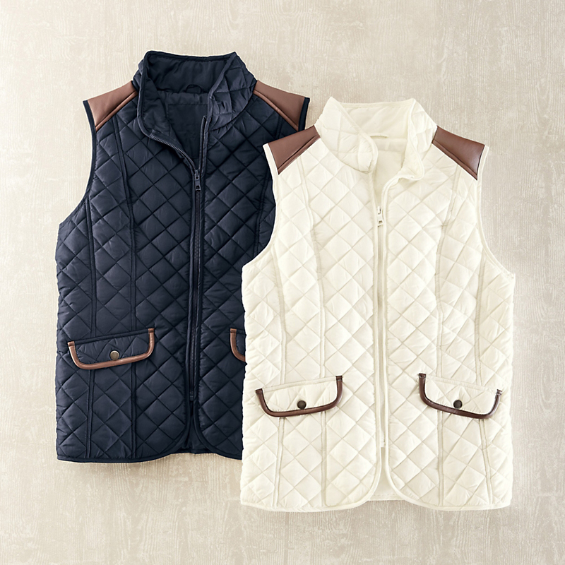 Morgan Quilted Vest