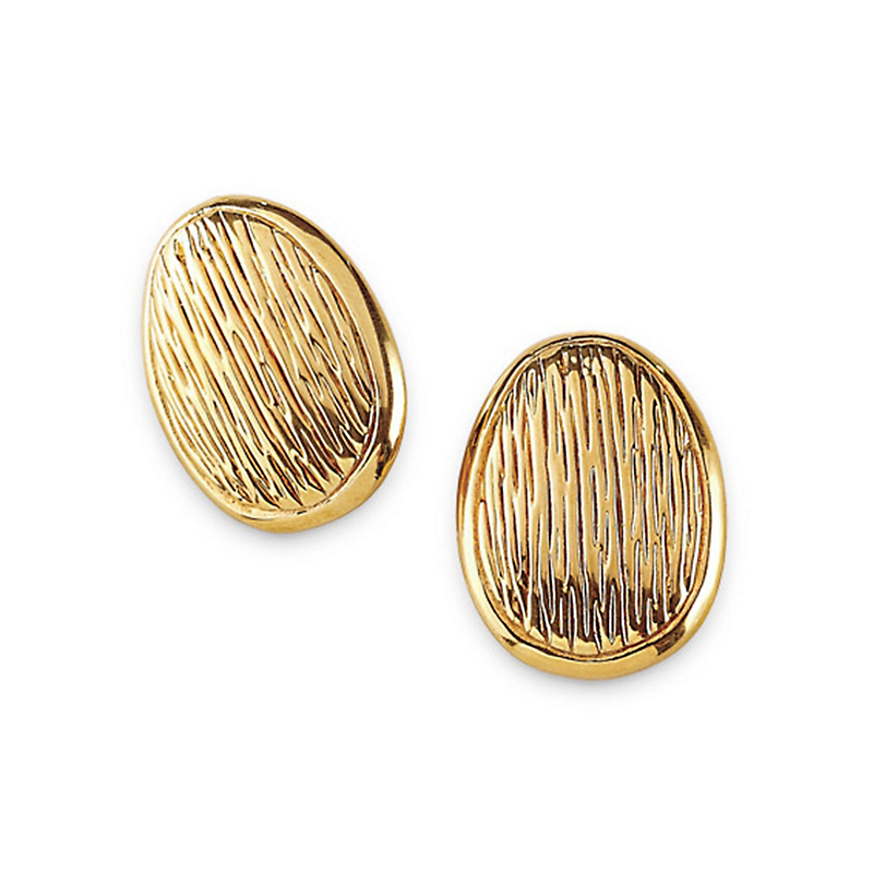 Simon Sebbag Textured Almond Earrings