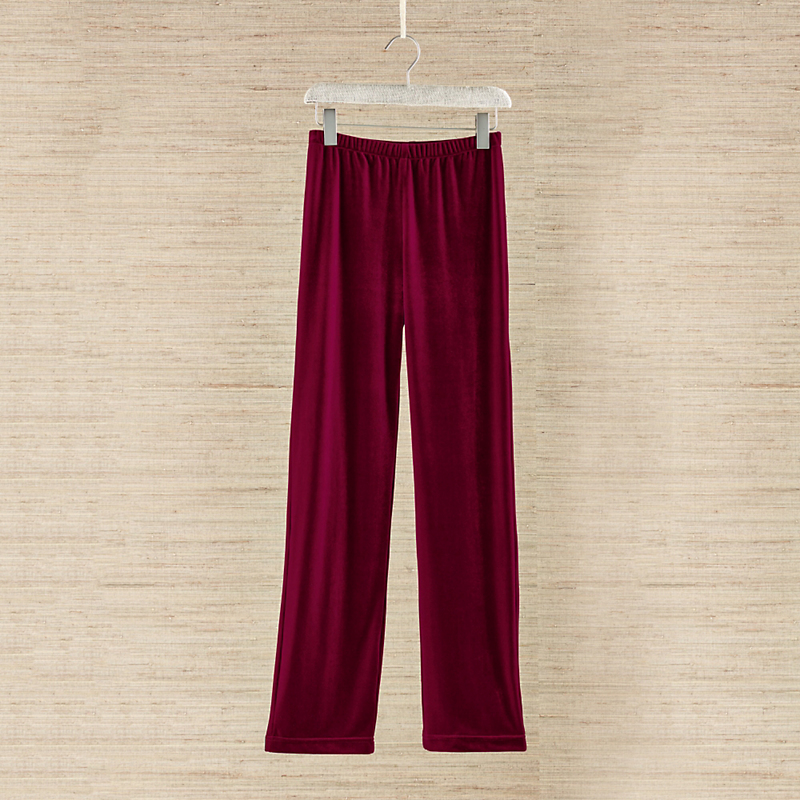Stretch Velvet Lounge Pants