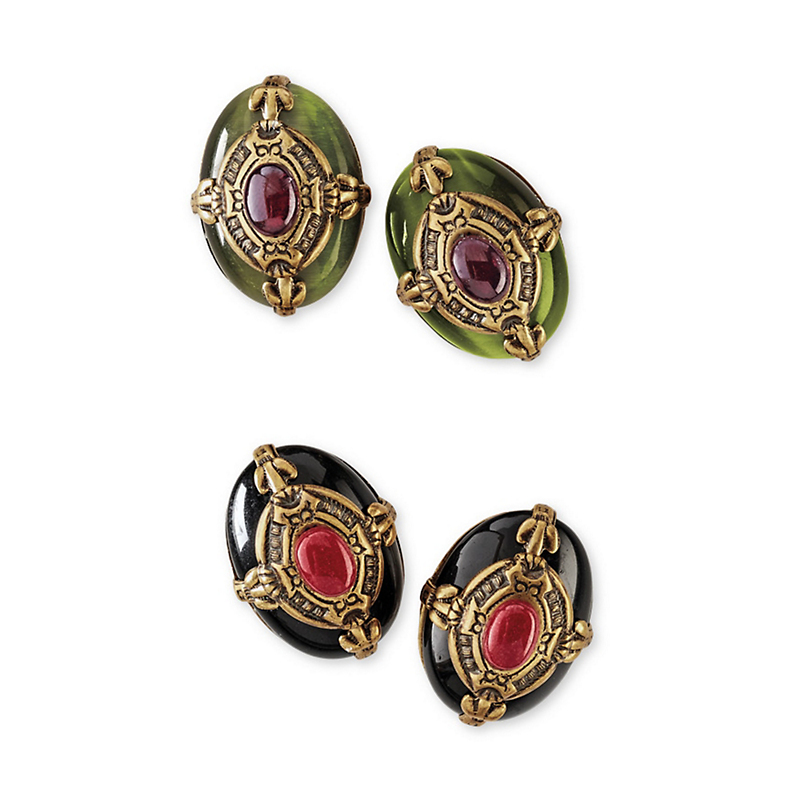 Ravenna Clip Earrings