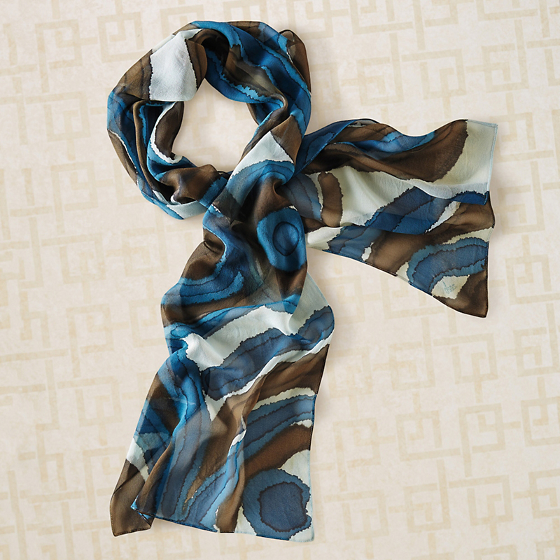 Avalon Silk Scarf