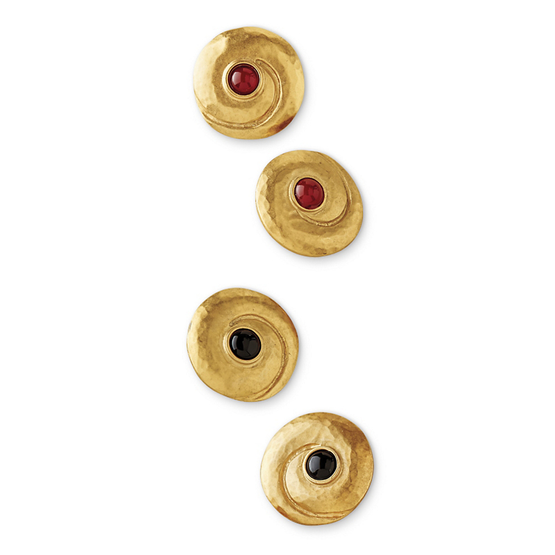 Swirl Clip Earrings