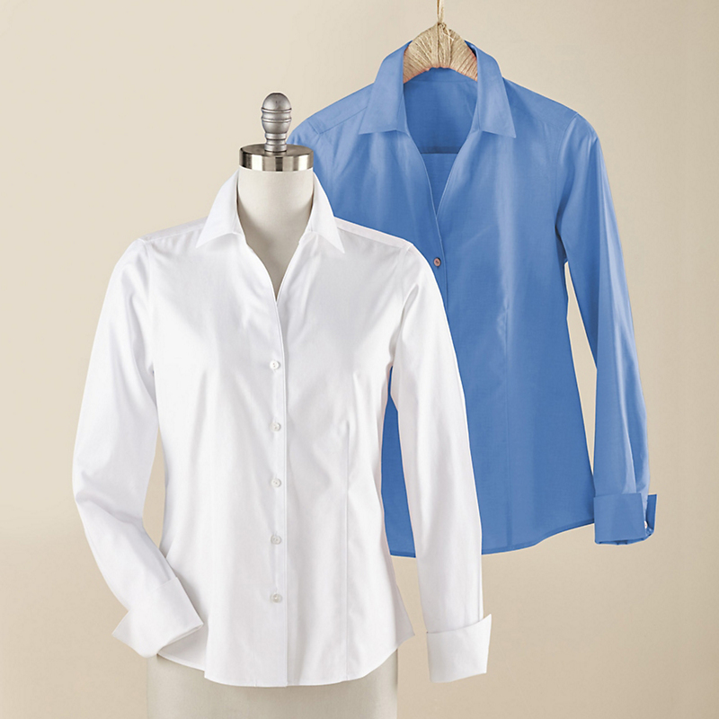Foxcroft Non-Iron Pinpoint Oxford
