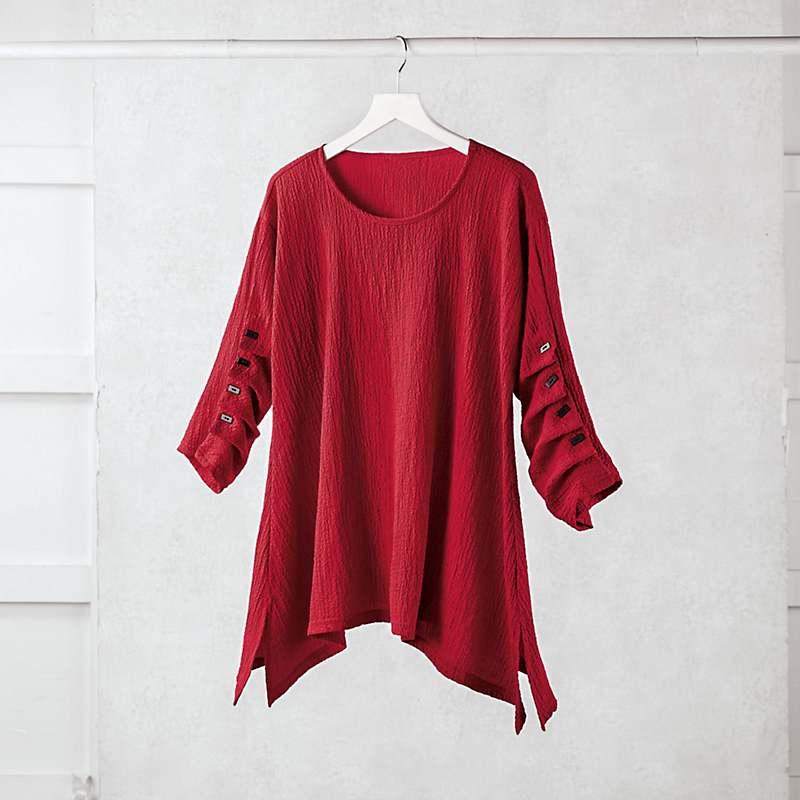 Kami Pleated Tunic