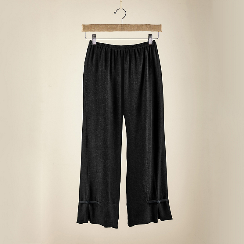Silk Cloque Pants