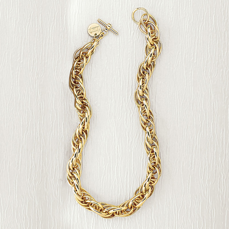 Gold Travel Necklace