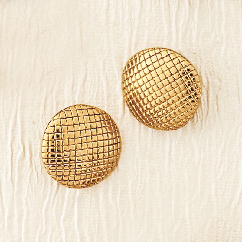 Simon Sebbag Textured Clip Earrings