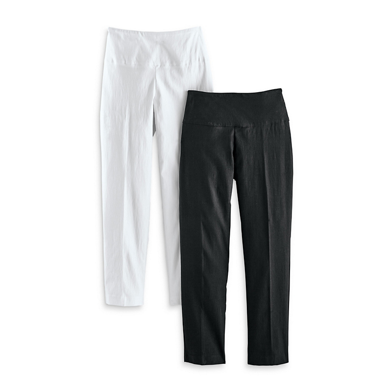 Up! Illusion Ankle Pants