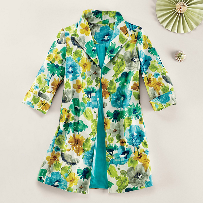 Curacao Floral Jacket