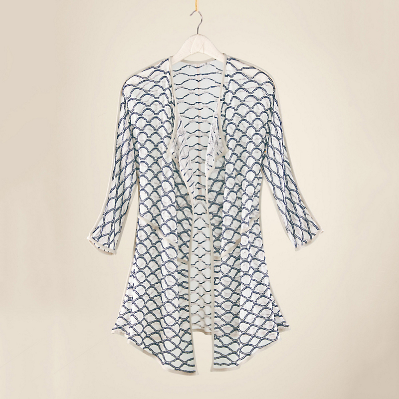 Nic + Zoe Lattice Cardigan