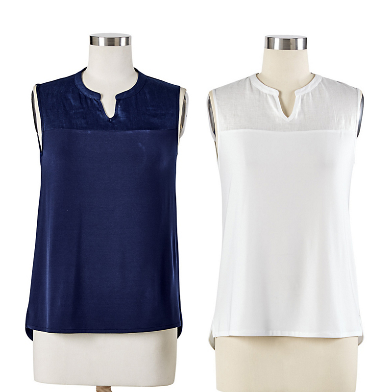Nic + Zoe Luxe Jersey Collection Tank