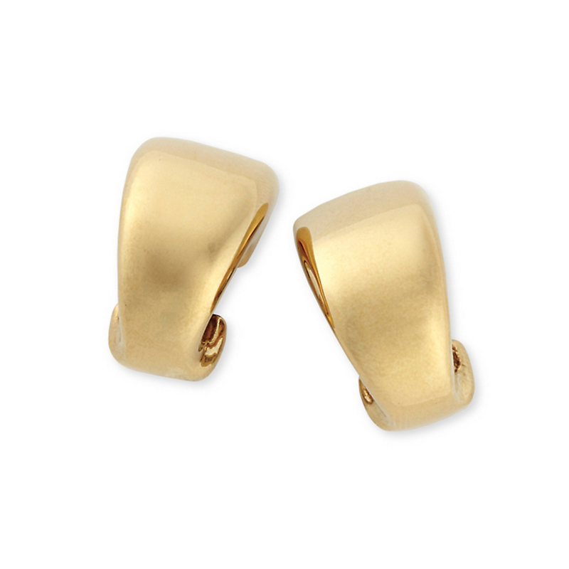 Simon Sebbag Curved Clip Earrings
