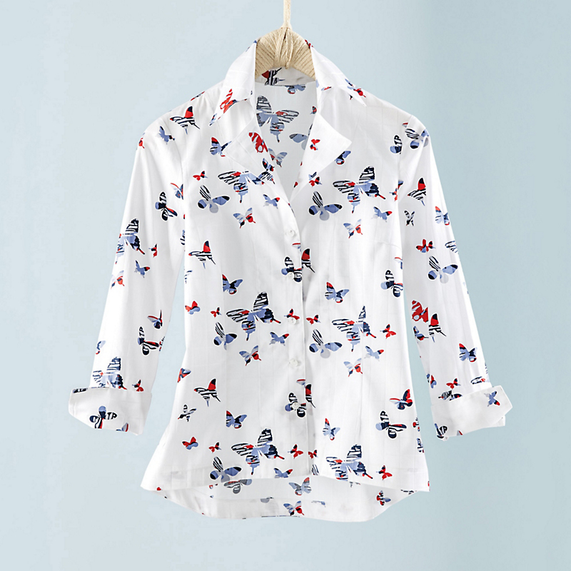 Swallowtail Butterfly Blouse