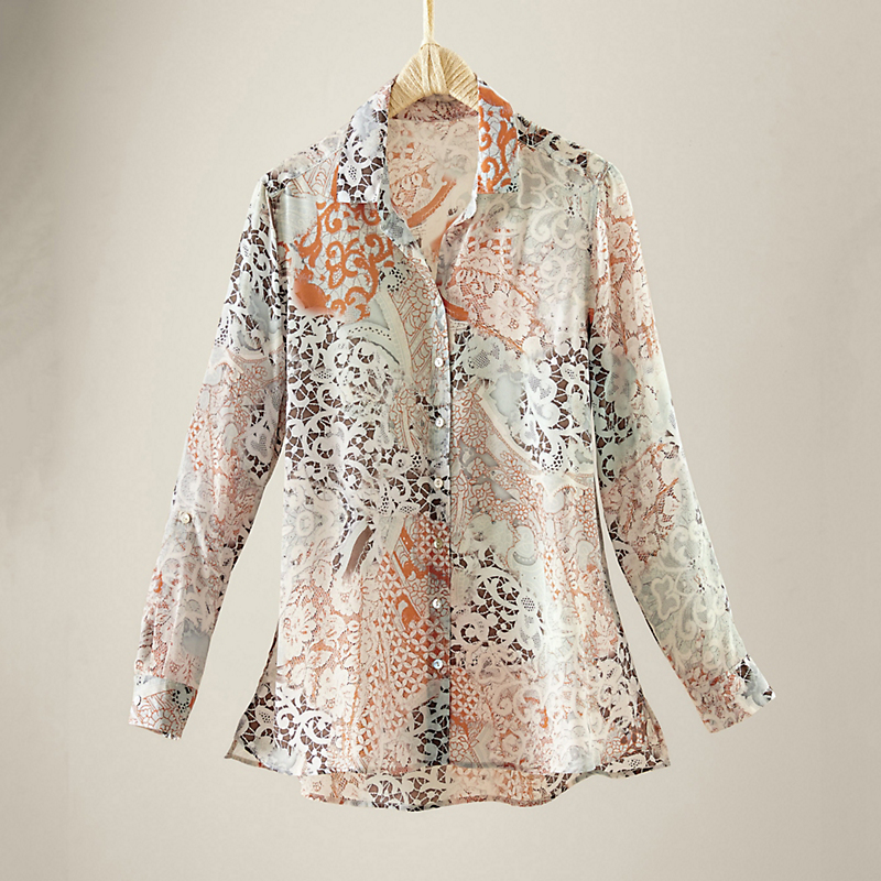Aurora Silk Blouse