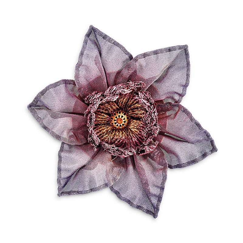 Sarah Cavender Passion Flower Pin