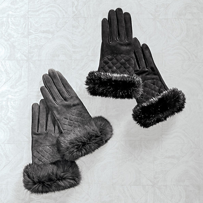 Babette Fur Gloves