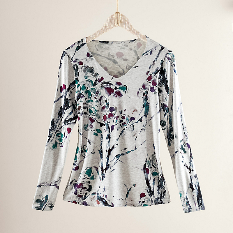 Wisteria V-Neck Top