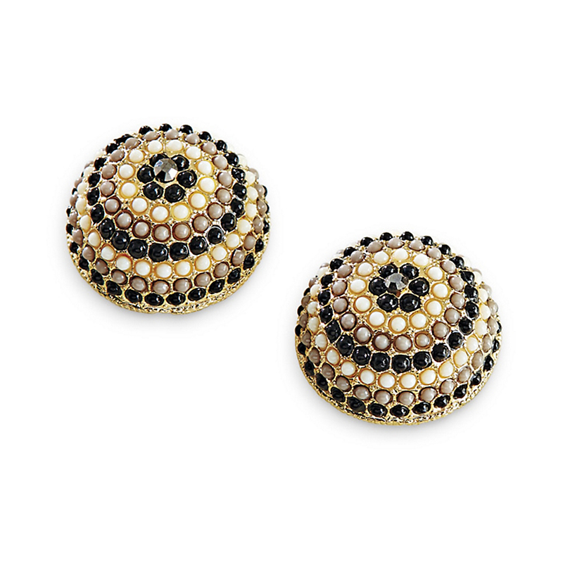 Art Deco Clip Earrings