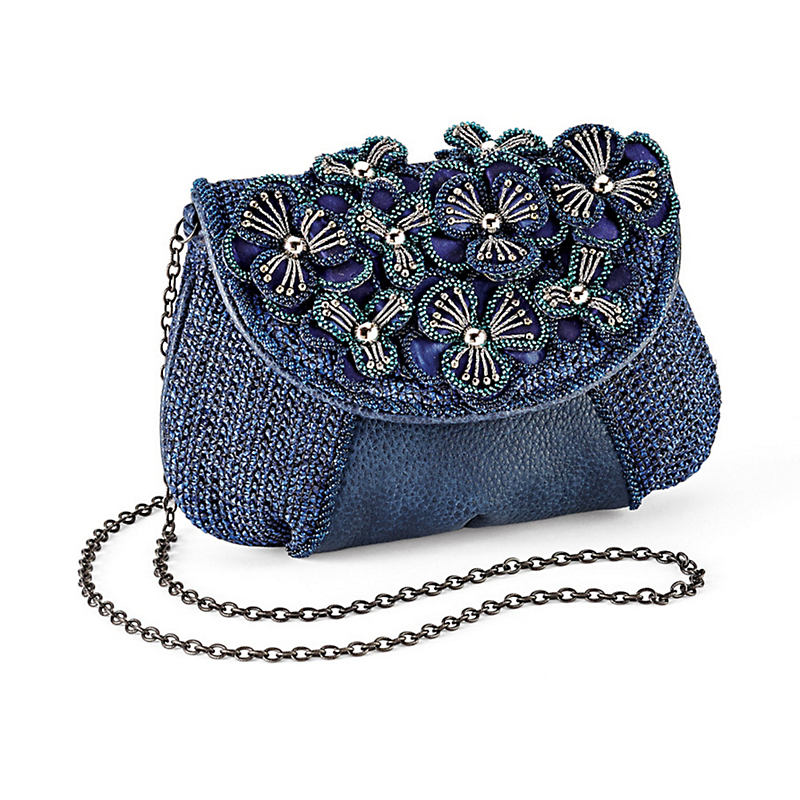 Mary Frances Delta Blue Bag