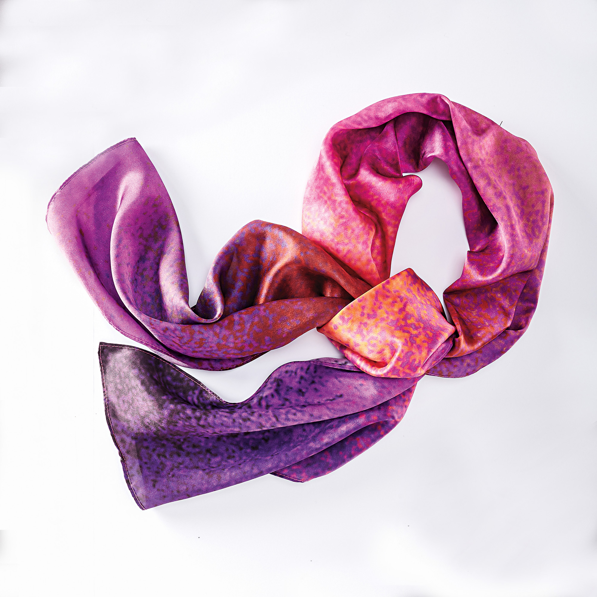 Silk Sunset Scarf
