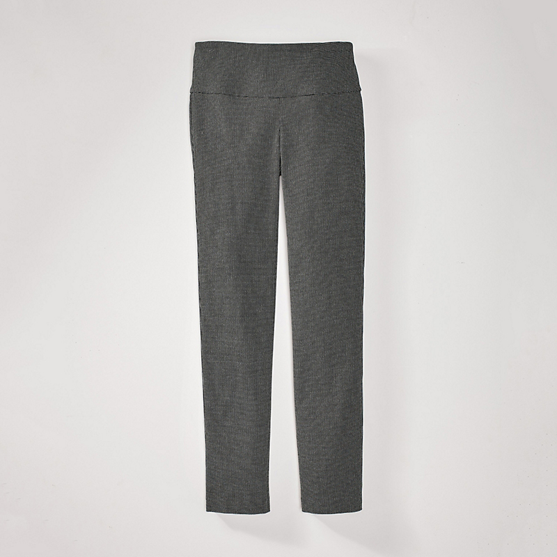 Up! Illusion Dot Jacquard Pants