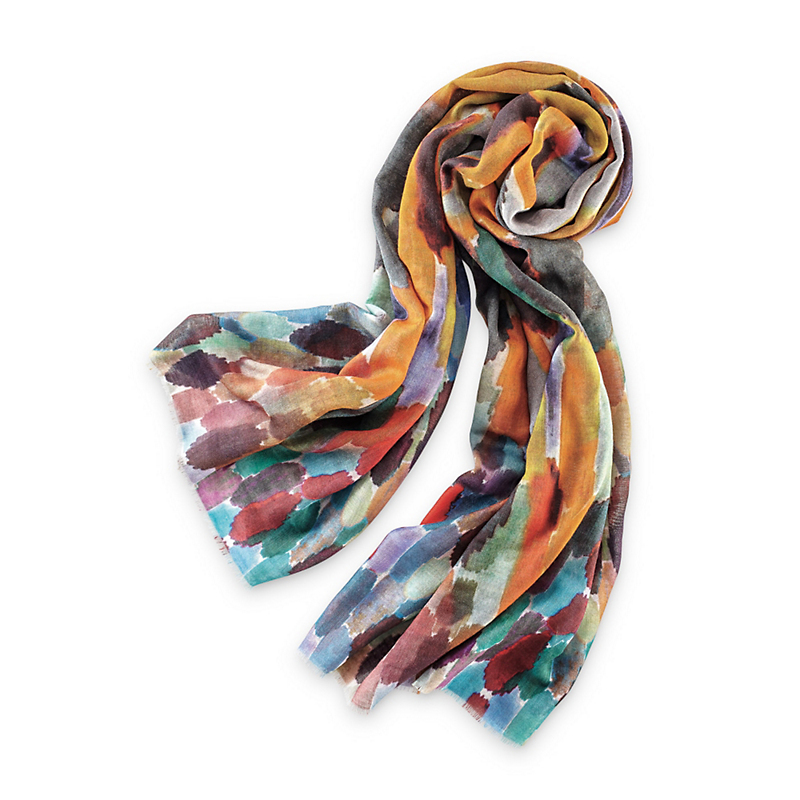 Watercolor Patch Scarf