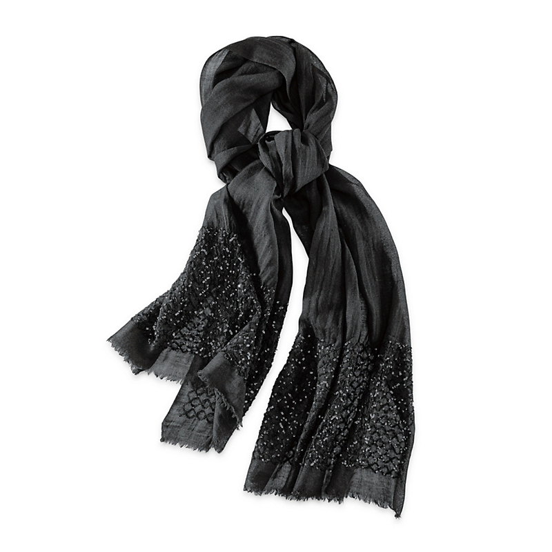 Glittering Sequins Scarf