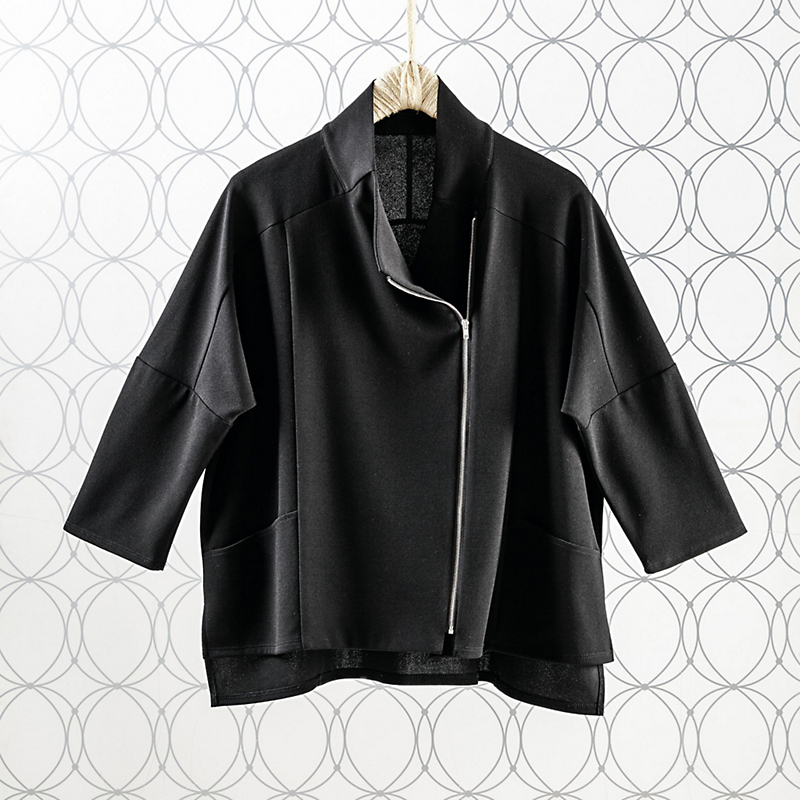 Simone Asymmetrical Jacket