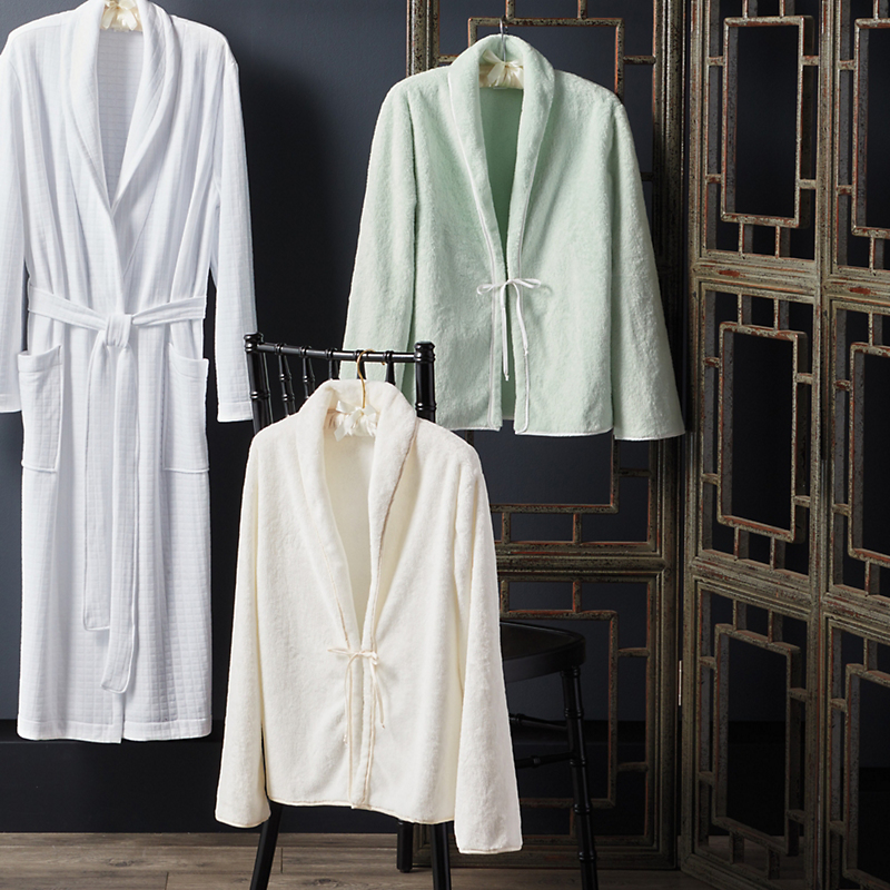 Front-Tie Bed Jacket