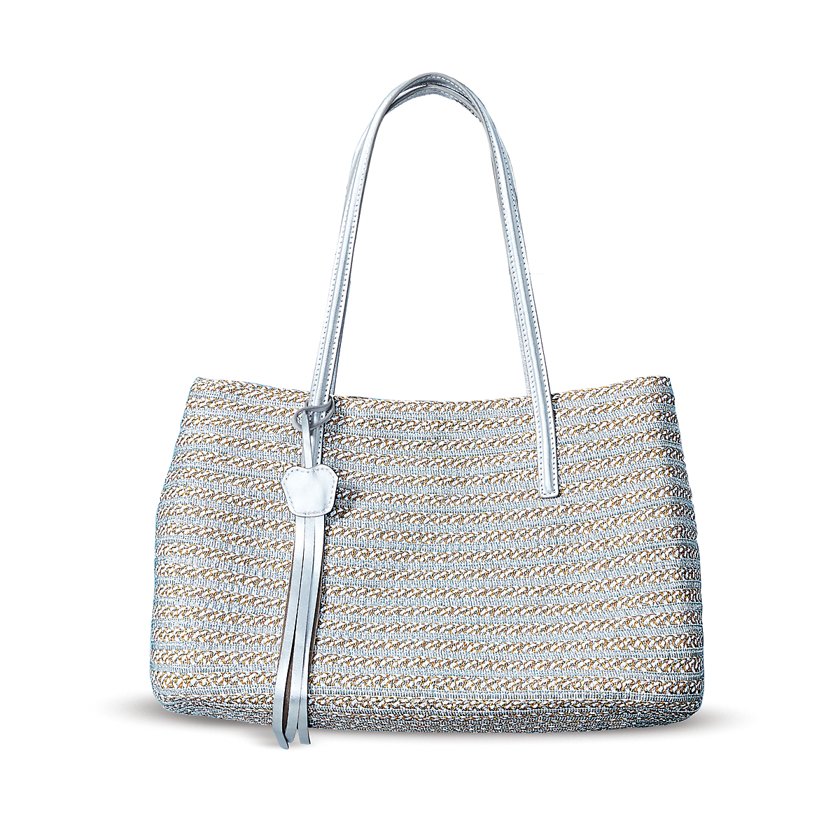 Eric Javits Dame Brooke Tote, Frost White