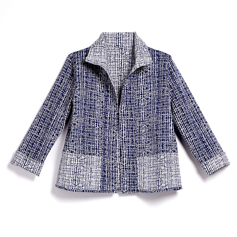 Reversible Crackle Jacket