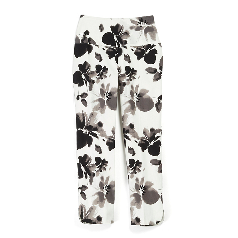 Up! Floral Slim Leg Ankle Pants