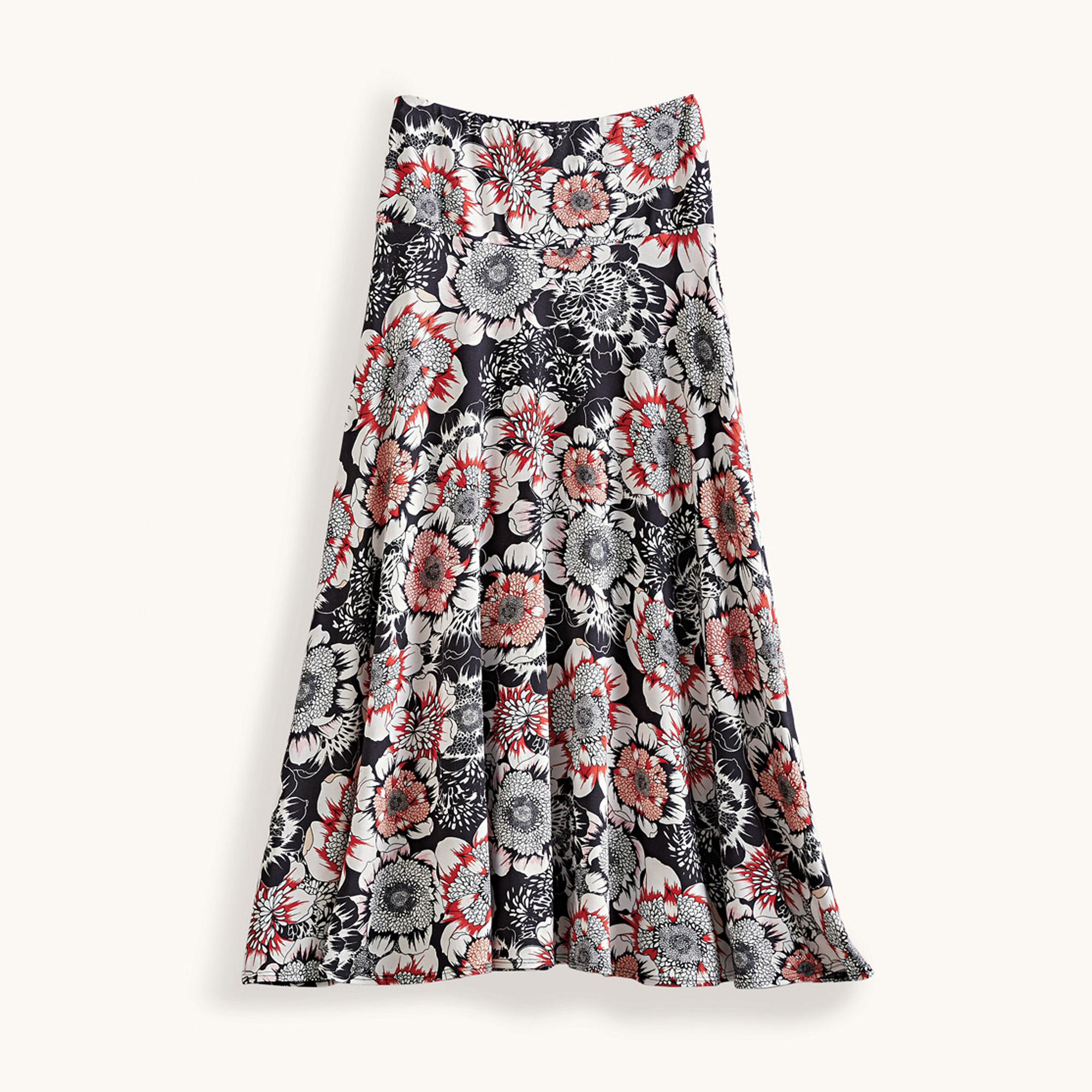 Hibiscus Floral Skirt