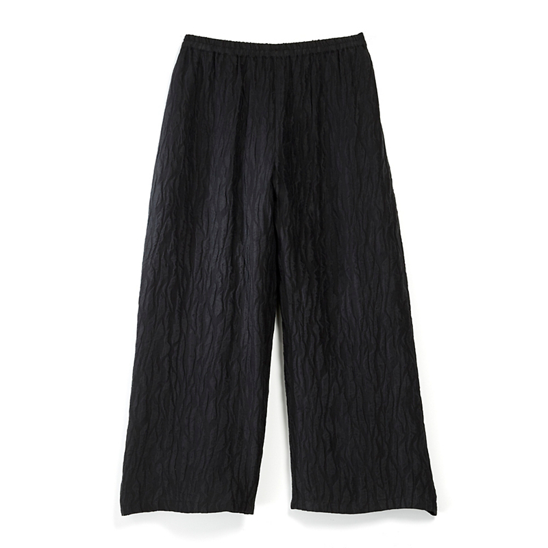Textured Silk Culottes