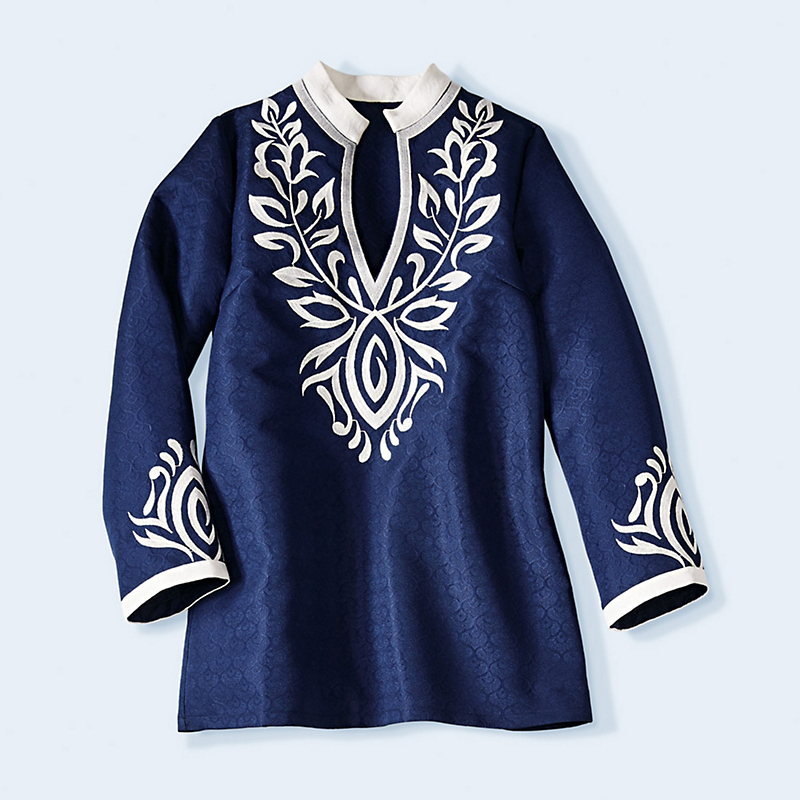 Serena Embroidered Tunic