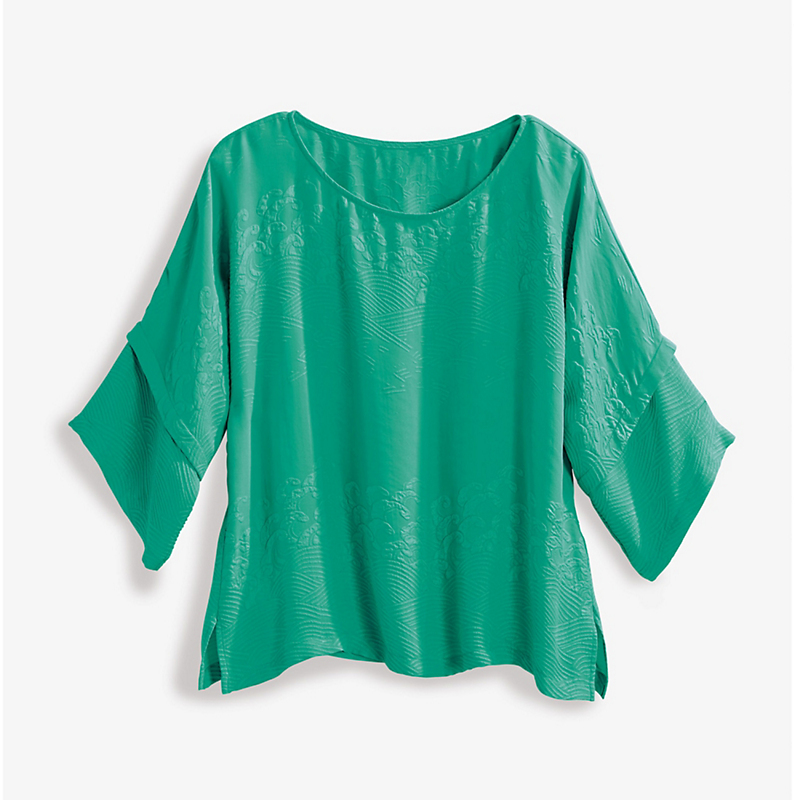 Jade Silk Tunic