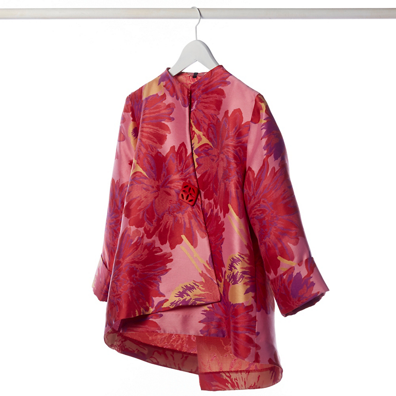 Floral Asymmetric Jacket