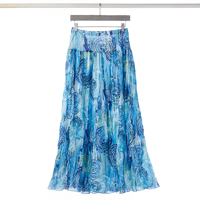 Medallion Maxi Skirt
