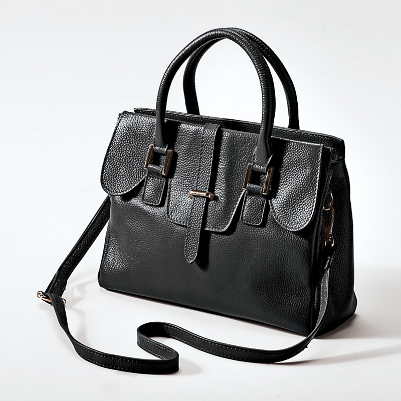 Juliana Leather Satchel