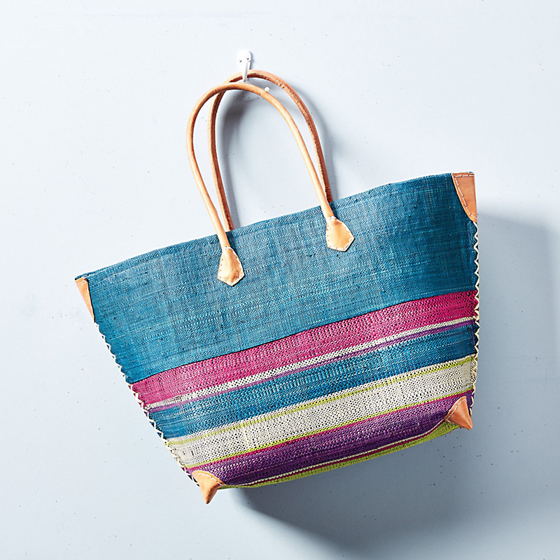 Merina Striped Tote