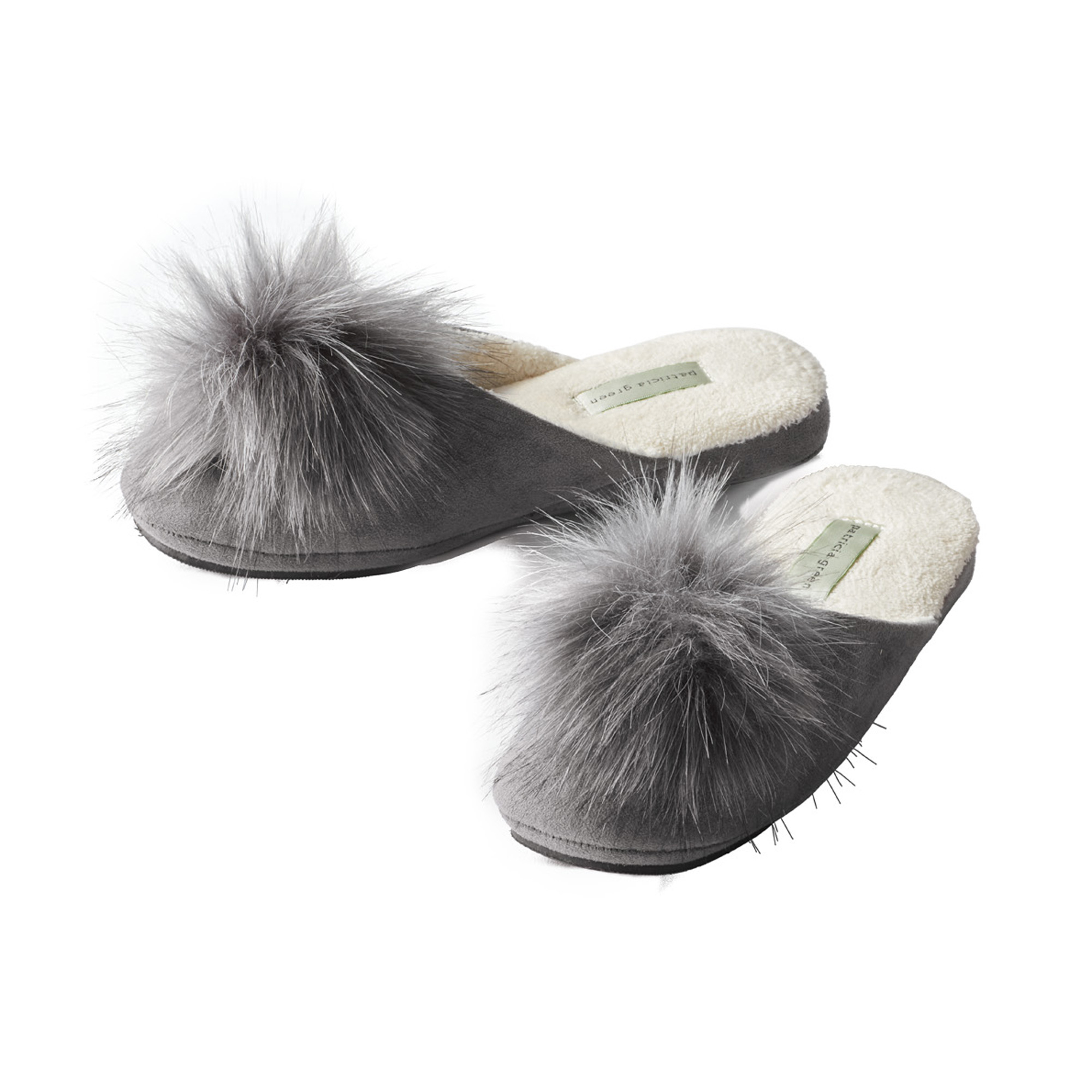 Patricia Green Pouf Slippers