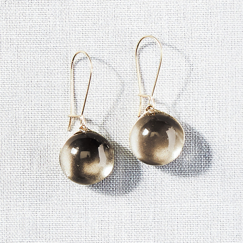 Alexis Bittar Sphere Lucite Earrings