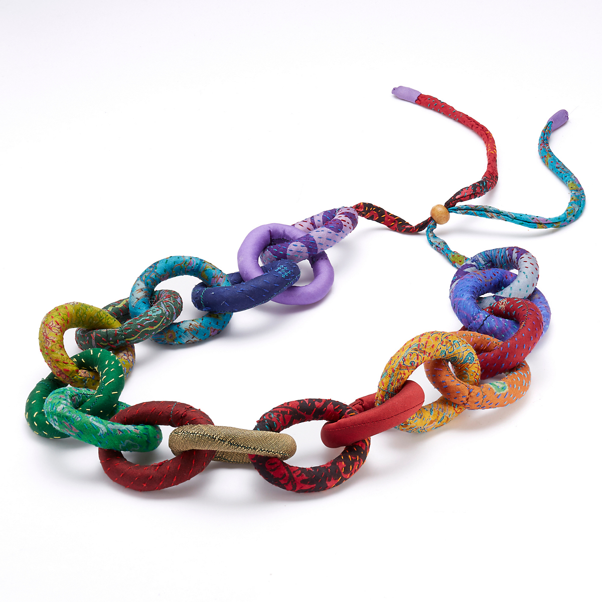 Mieko Mintz Rainbow Chain Necklace