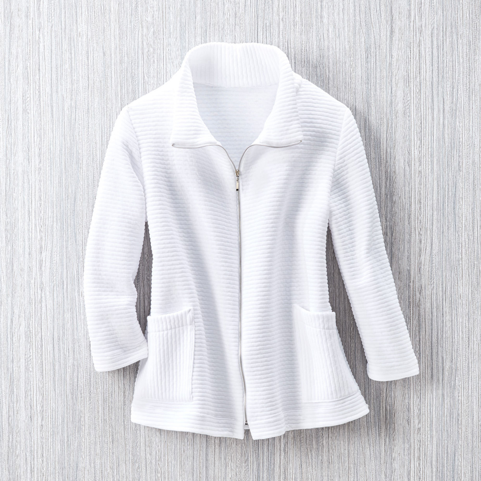 Karen Luu Lounge Collection Textured Jacket