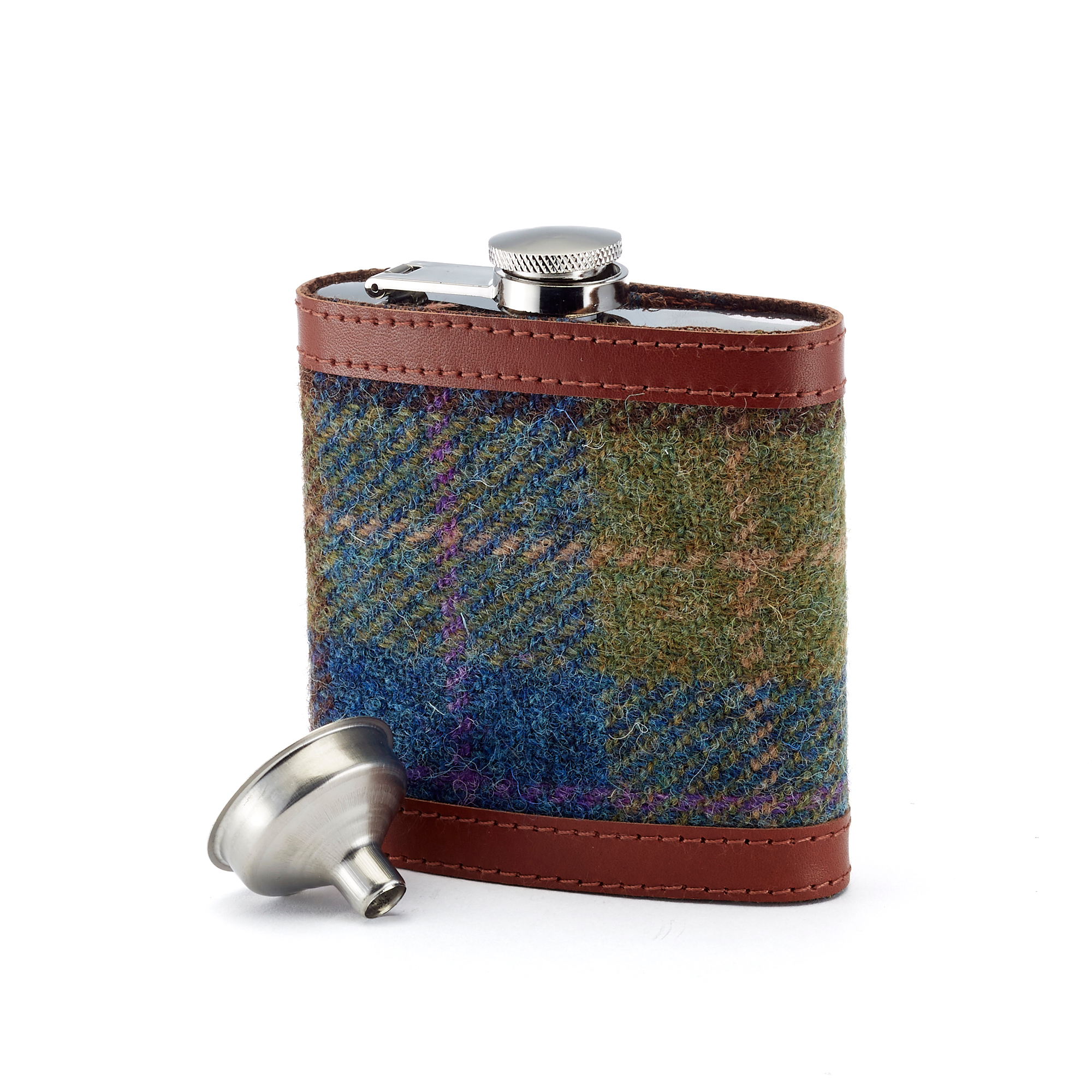 Harris Tweed Flask