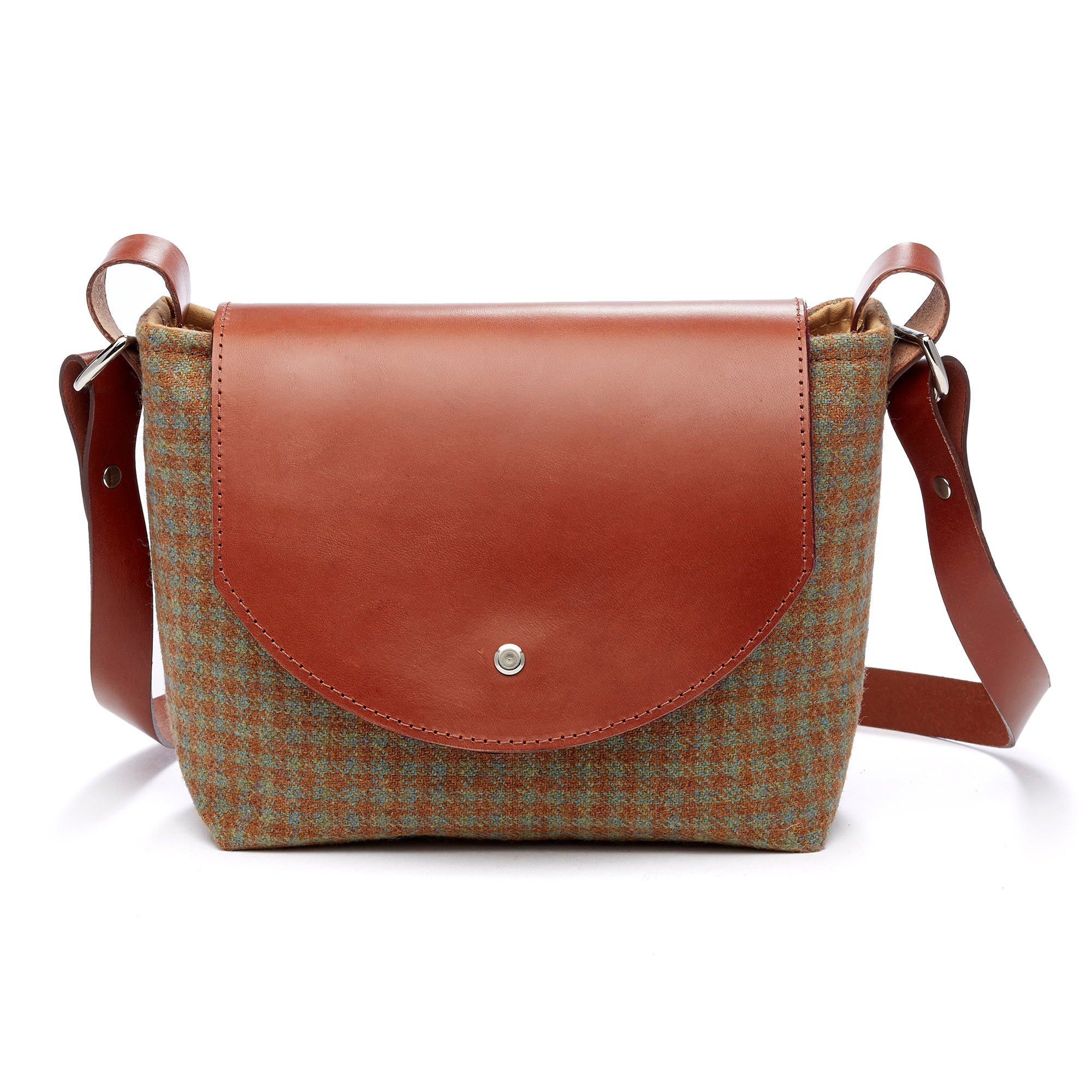 Tweed Saddle Bag