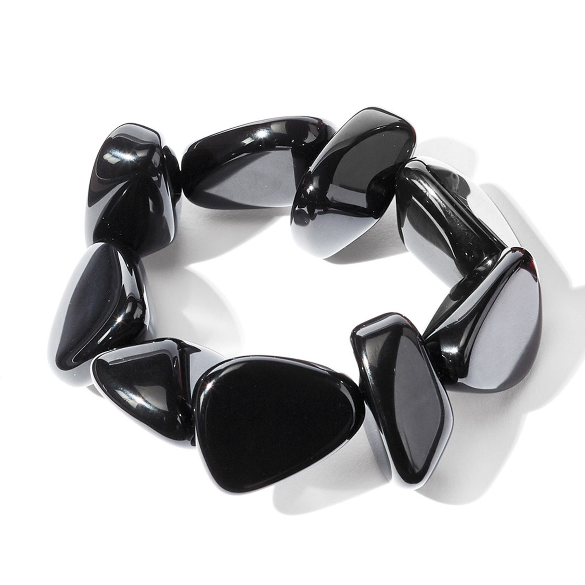 Pebble Bracelet, Black