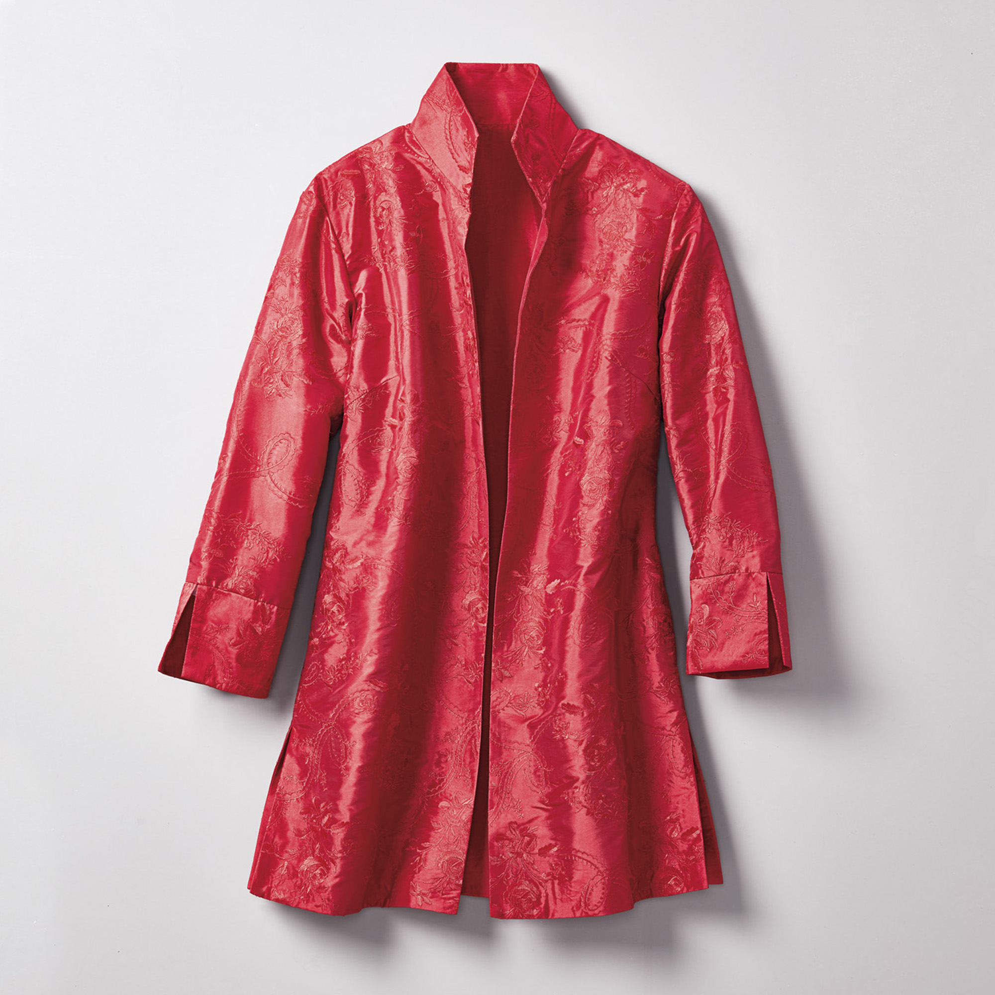 Alice Embroidered Jacket, Red