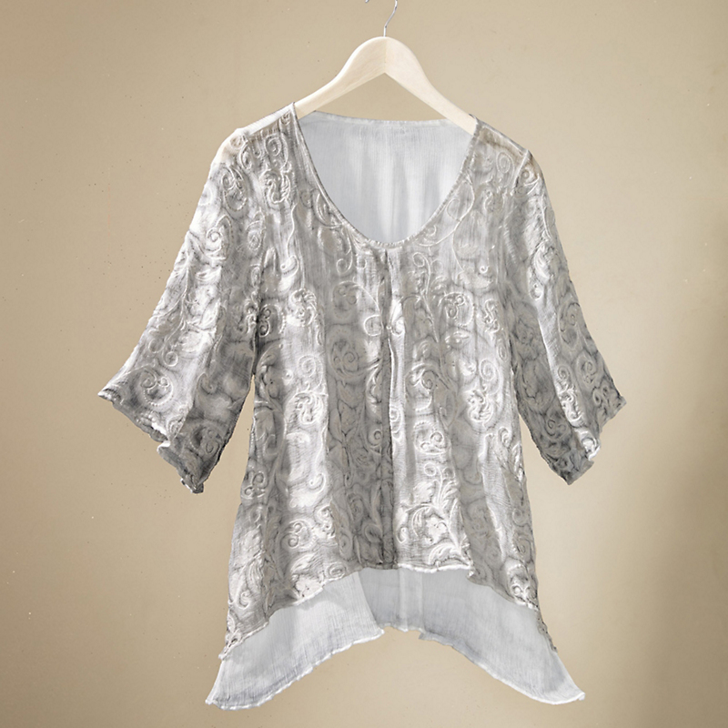 Silk Swirls Tunic
